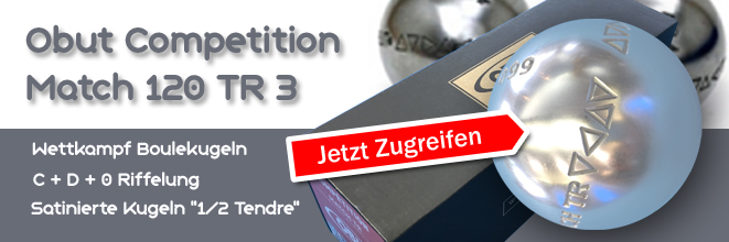 Boule Kugel Obut Competition Match 120 TR 3
