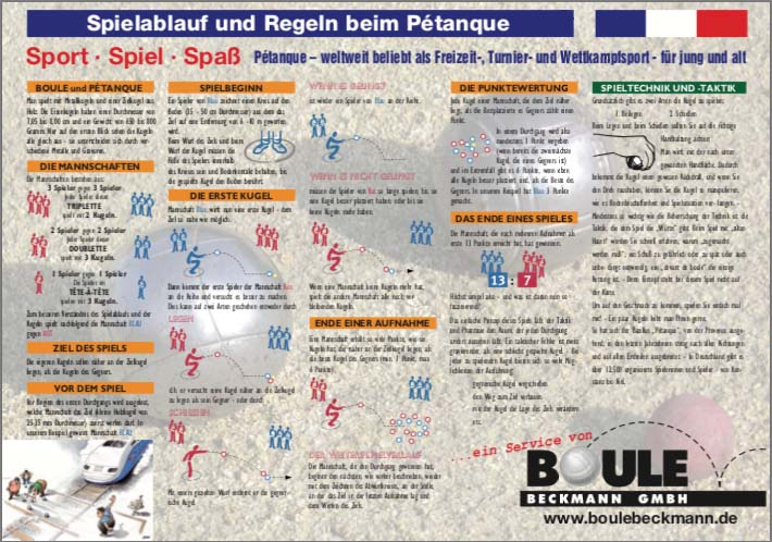 Petanque Regeln