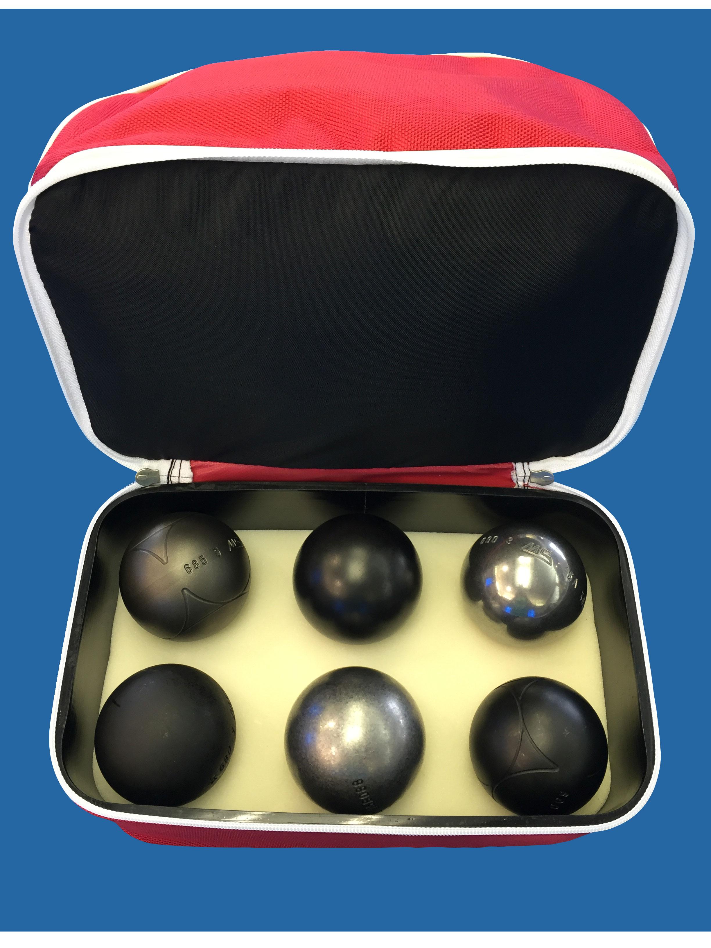 turniertasche f r 6 kugeln kaufen boule beckmann online shop. Black Bedroom Furniture Sets. Home Design Ideas